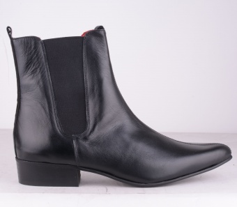 Liverpool Black Seam Boot