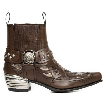 WST005-S9 Camel Python Boot