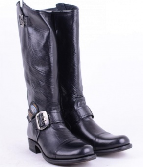 MGY029 Black High Boot