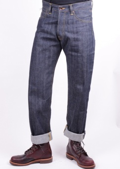 Nashville Red Listed Selvedge - Unwashed