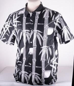 Nimes Shirt Black Bamboo