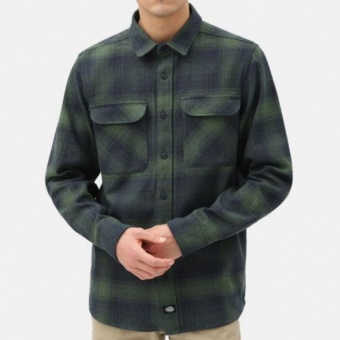 Plesent Hill Shirt Green/Black