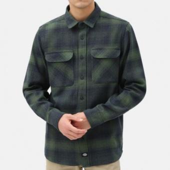 Plesent Hill Shirt Green/Black