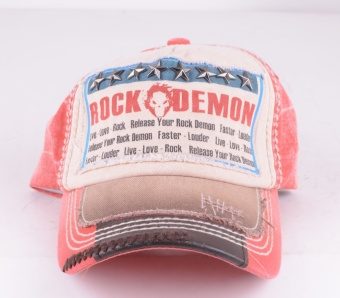 Rock Demon Star Cap Red