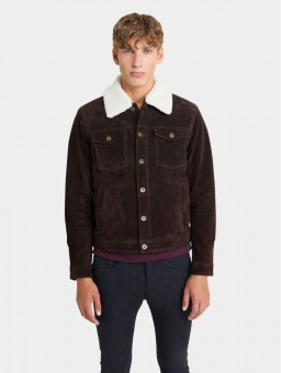 Ranger Dark Brown Sherpa Jacket