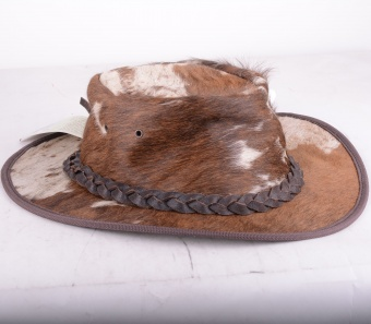 Rustler Cow Hat  Brown