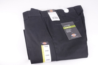 872 Black Slim Fit Work Pant