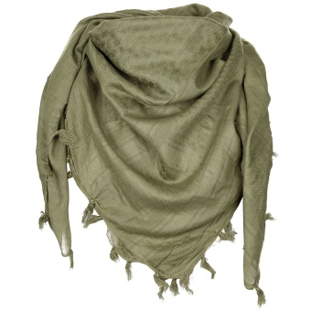 "Scarf, ""Shemagh"", supersoft, OD green"