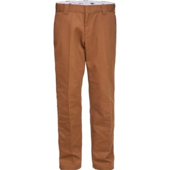 Slim Fit Work Pant 872 Brown Duck