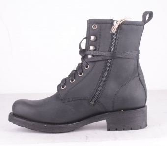 Sprinter Negro Boot with Zip