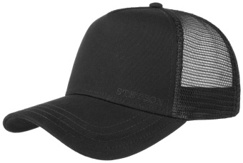 Trucker Cap Black Cotton