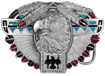 Thunderbird Feather Buckle