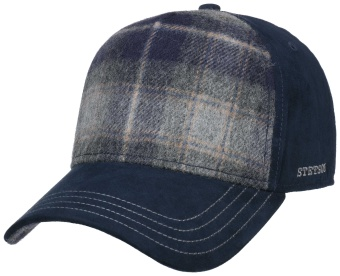 Trucker Cap Lambswool Blue