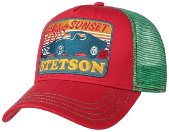 Trucker Cap Sunset Red