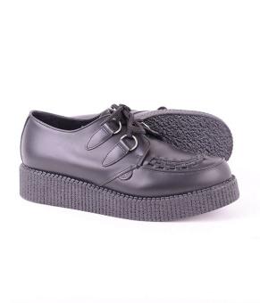 Wulfrun Black Leather
