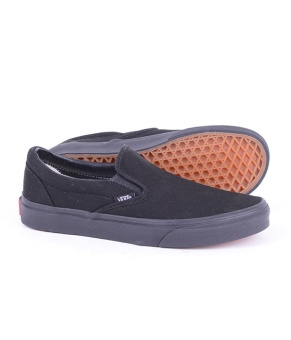 Classic Slip-On Black Mono