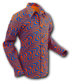 Wavyline Orange Blue