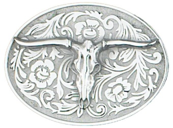 Western Steer Belt Buckle