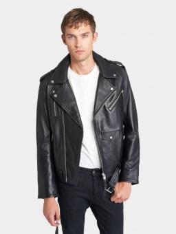 Wyatt Black Leather