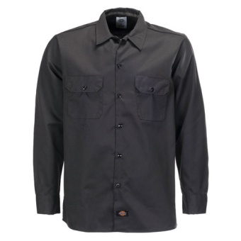 L/S Slim Shirt Black