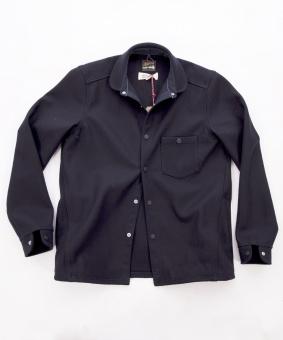 SARVA Wool Shirt Navy