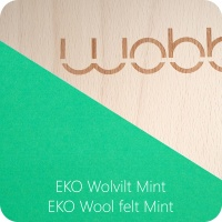 Wobbel Original Board - Felt Mint - Wobbel