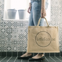 Shoppingbag Jute Stor - LittleEco