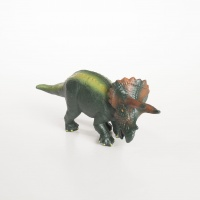 Triceratops - Green rubber Toys