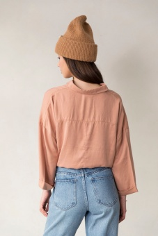 Beek Oversized Shirt - Nude - I Dig Denim
