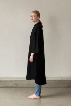 Beek Shirt Dress - Black - I Dig Denim