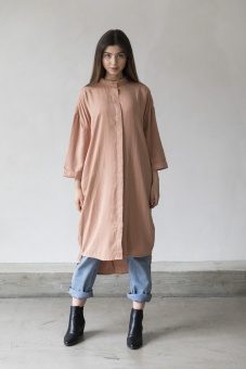 Beek Shirt Dress - Nude - I Dig Denim