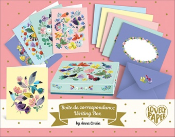 Anna Emilia writing set - Djeco Lovely Paper