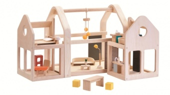 Slide N Go Dollhouse - Plantoys