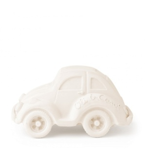Beetle Car - White - Oli & Carol