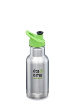 Kid Isolerad 355 ml - Brushed Stainless - Klean Kanteen