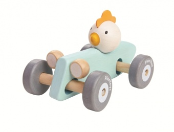 Chicken Racing Car - Plantoys