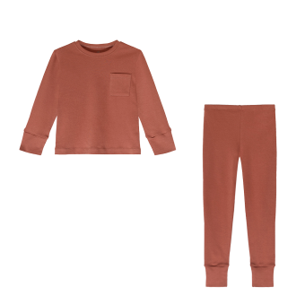 Kids Pyjamas - Rust - The Sleepy Collection