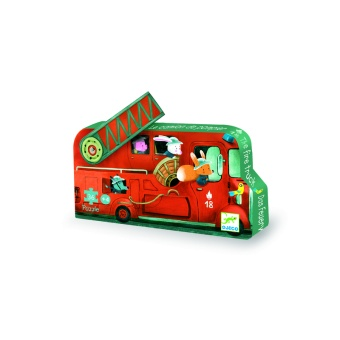 Pussel - Fire Truck -  Djeco