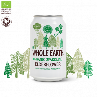 Whole Earth - Fläder - Ekologisk Läsk