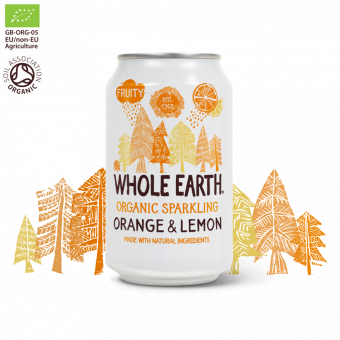 Whole earth - Orange & Lemon - Ekologisk Läsk