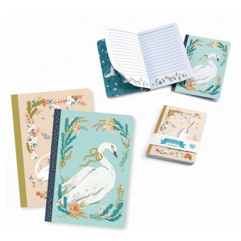 2 pack Little Notebook - Djeco Lovely Paper