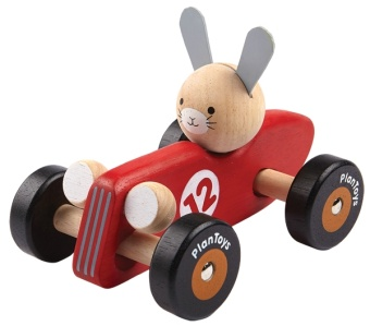 Rabbit Racing Car - Plantoys