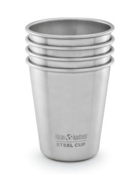 Steel Cup 296 ml - 4 pack - Klean Kanteen