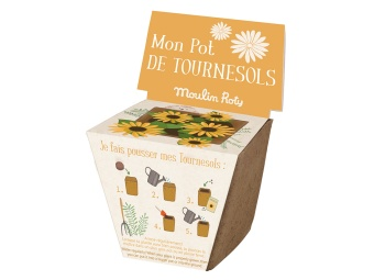 Planteringsbox Solros - Moulin Roty