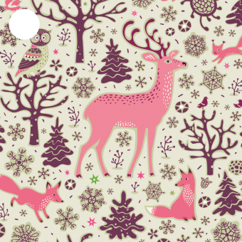 Jul paper tag Winterland - Cards by Jojo