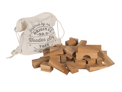 Klossar Small - 100 st - Wooden Story