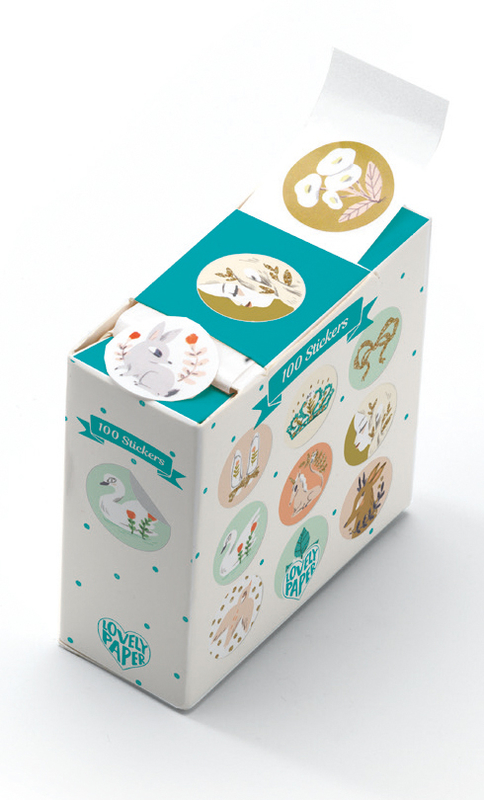 Lucille Stickers - Lovely Paper Djeco