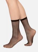 Swedish stockings Liv Net sock micronet