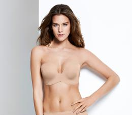NEW - Wonderbra - ultimate strapless - beige