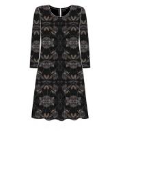 Cotonel klänning Sammet